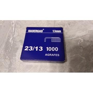 Zszywki stalowe 13mm, 23/13 opakowanie 1000szt.