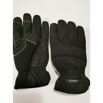 Rękawice zimowe ocieplane na rower