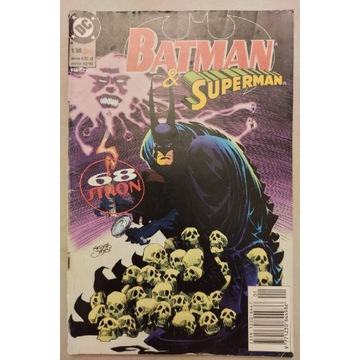 Komiks Batman & Superman 1 1/98 TM-SEMIC