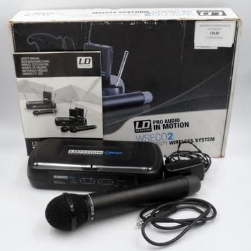 Mikrofon LD SYSTEMS WS ECO2 UHF DIVERSITY