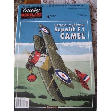 MAŁY MODELARZ 6/2004 Myśliwiec Sopwith F.1 CAMEL