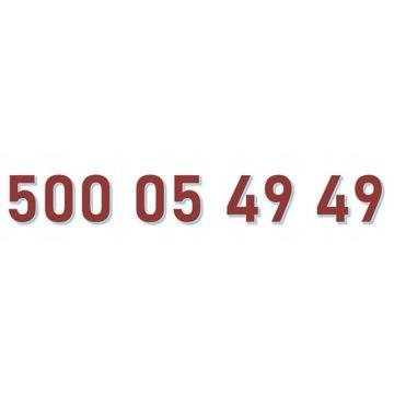 500 05 49 49 ORANGE ŁATWY ZŁOTY NUMER starter