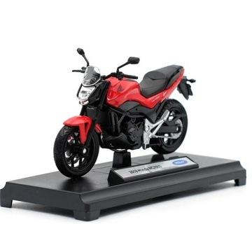 WELLY MOTOCYKL MOTOR MODEL HONDA NC750S 2018