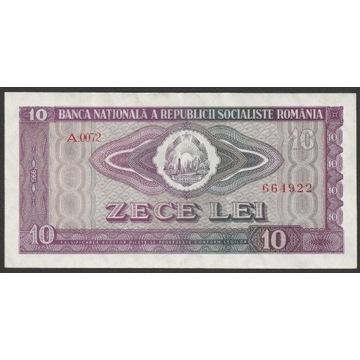 Rumunia 10 lei 1966 - A.0072 - stan bankowy UNC