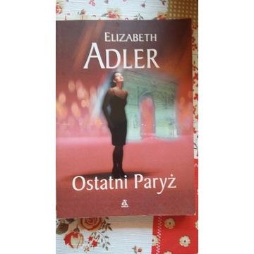Elizabeth Adler, Ostatni Paryż