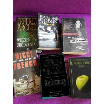 Zestaw 5 książek - kryminały Coben, Child, Archer