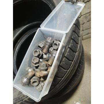 Śruby M14x1,50 do felg Mercedes E W211 czarne kula