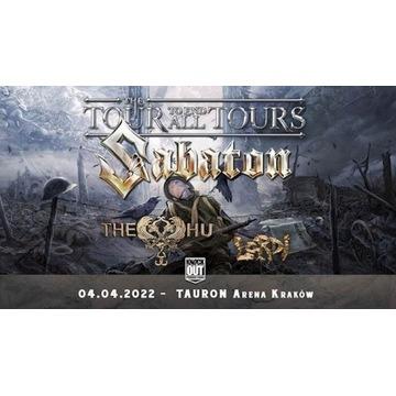 Bilety na Sabaton, Kraków 2022