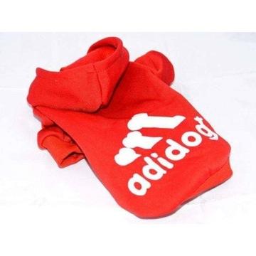 Bluza z kapturem dla psa ubranko Adidog