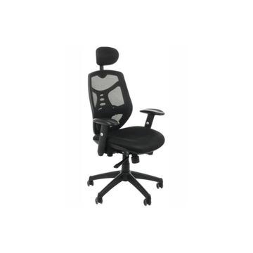 STEMA Krzesło biurowe KB-8905 CZARNY