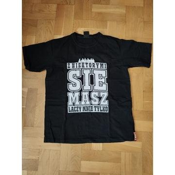 T-shirt męski hip-hop czarny polski producent L/XL