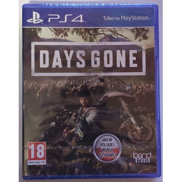 Days Gone PL NOWA FOLIA PS4 / PS5