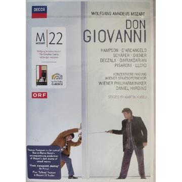 Mozart Don Giovanni - Harding Hampson Beczała 2DVD