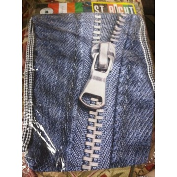 St. Majewski plecak na sznurkach Zipper jeans olds