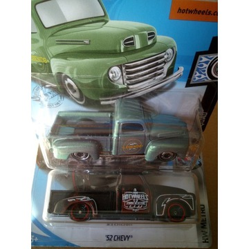 Hot Wheels Ford F1 / Chevy 52 / Pickup