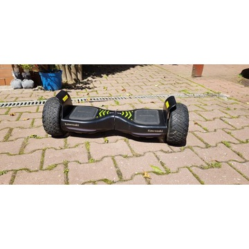 kawasaki balance scooter kx-cross 8.5  jak nowy