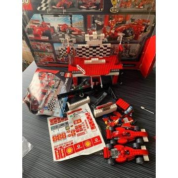 Zestaw LEGO 8672 Racers Ferrari Linia Mety UNIKAT!