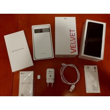 LG VELVET + Dual Screen - komplet