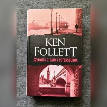 CZŁOWIEK Z SANKT PETERSBURGA Ken Follett STAN BDB
