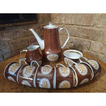 Serwis kawowy Roman ręcznie malowany Chodzież