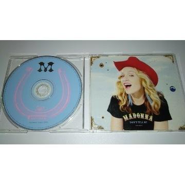 Madonna - Don't tell me - Singiel