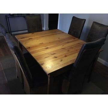 Stół, lite drewno, do jadalni, kuchni lub salonu