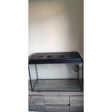 Akwarium z pokrywą 140l