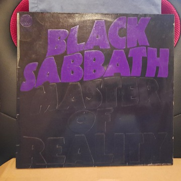 BLACK SABBATH LP - MASTER OF REALITY, EX, VERTIGO