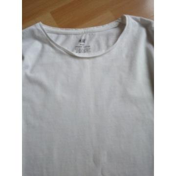 Koszulka, top biała HM.Baw R. 146-152