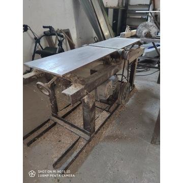 Duży stół Stolarski heblarka Strugarkogrubościówka