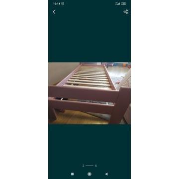Łóżko Drewniane sosnowe 80x200 Bardzo Mocne do 120