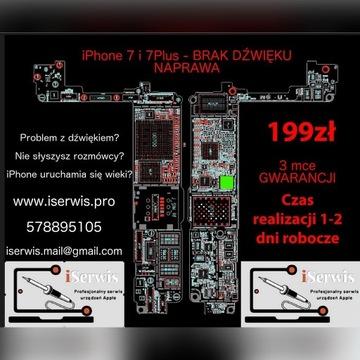 Naprawa iPhone 7, 7+,8, 8Plus, X,XR, XS, XS MAX 11