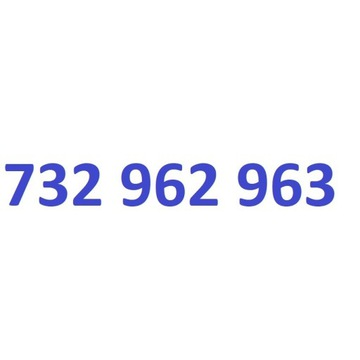 732 962 963 starter play ładny złoty numer