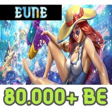 Konto League of Legends LOL EUNE Unranked 80K+ BE