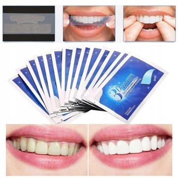 Paski wybielające zęby x28 _ SUPER BIEL