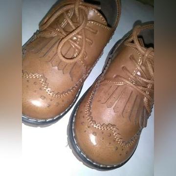 Skórzane buty Reserved