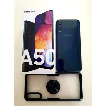 Samsung Galaxy A50 A505F DS 128 GB czarny BDB