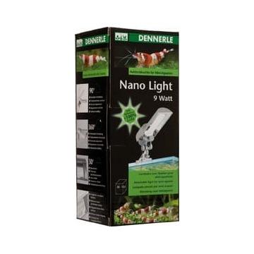 DENNERLE Nano lampka 9W do akwarium krewetkarium