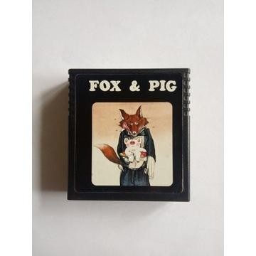 Atari 2600 Fox and Pig - Gra cardridge