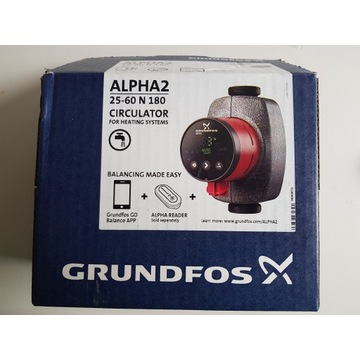 Grundfos pompa alpha2 25-60 n 180 1x230v 50hz 6h