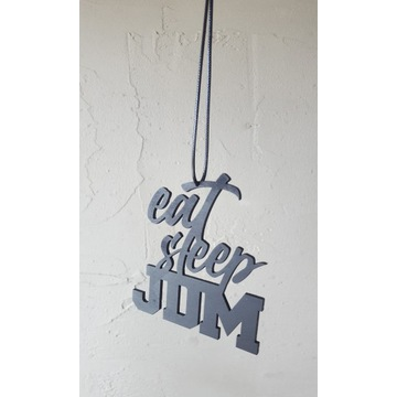 Zawieszka EAT, SLEEP, JDM * sklejka 3mm, sznurek