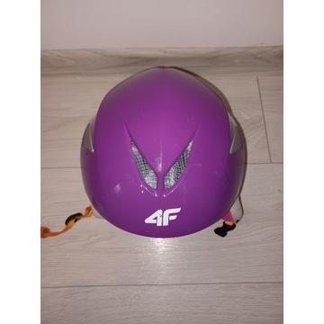 Kask narciarski 4F kids