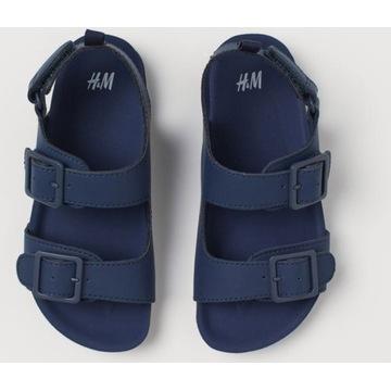 Sandały, sandałki chłopięce na rzep H&M r.26. NOWE