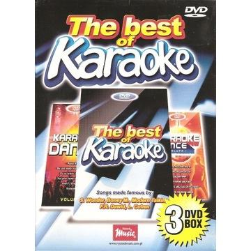 The best of karaoke 3dvd box nowy folia