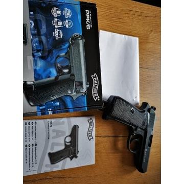 Wiatrówka pistolet Walther PPK/S BB + Gratis!