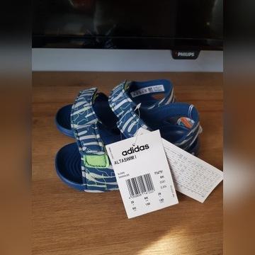 Adidas nowe sandały dla chłopca 26 moro