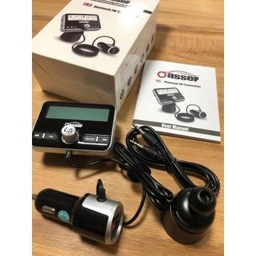 TRANSMITER BLUETOOTH FM USB ŁADOWARKA ROZMOWY MP3