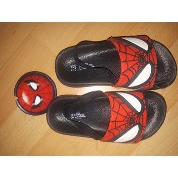 Klapki  Spiderman  Nowe