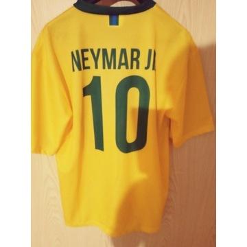 Koszulka zotla Brazil Neymar XL pilkarska