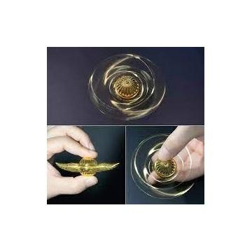 Fidget spinner złoty znicz